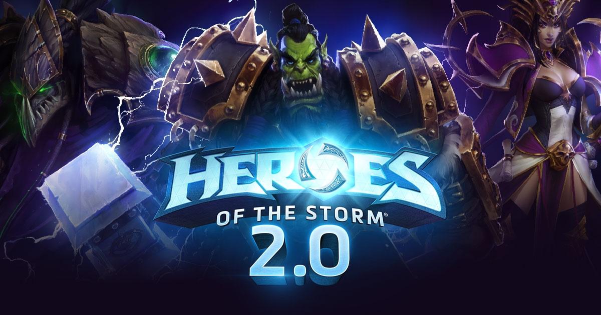 Двадцать героев из Heroes of the Storm можно получить бесплатно