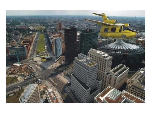 Летающие такси – уже в 2010 году?