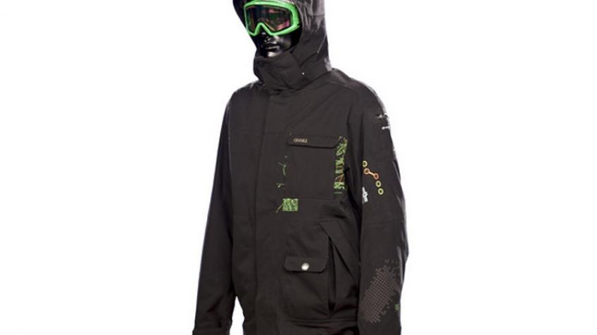 Мода 2008: куртка со встроенным навигатором от O'neill