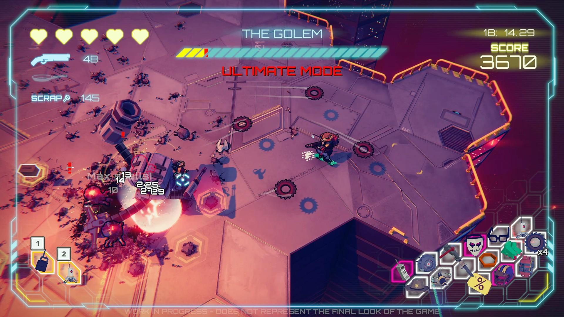 Киберпанковый рогалик Danger Scavenger выходит в июне на PC