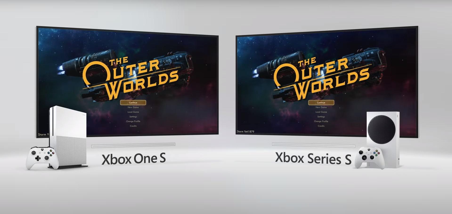 Microsoft наглядно сравнила время загрузки Xbox One S и Xbox Series S