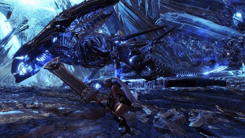 Моддер добавил Королеву ксеноморфов в Monster Hunter: World