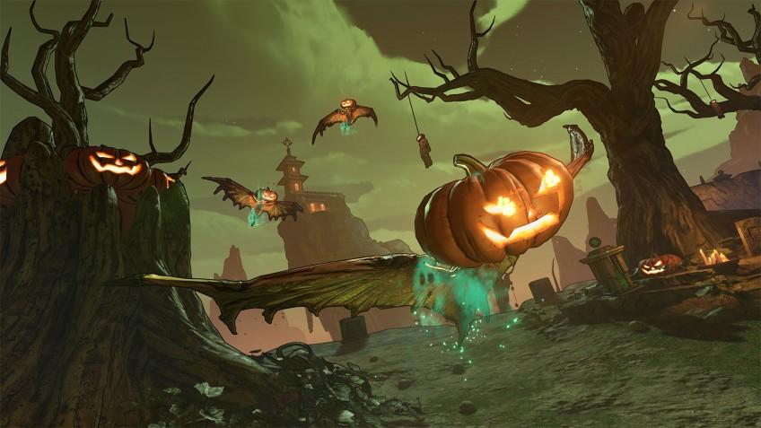 Хэллоуинский ивент добавит в Borderlands3 огнедышащие тыквы