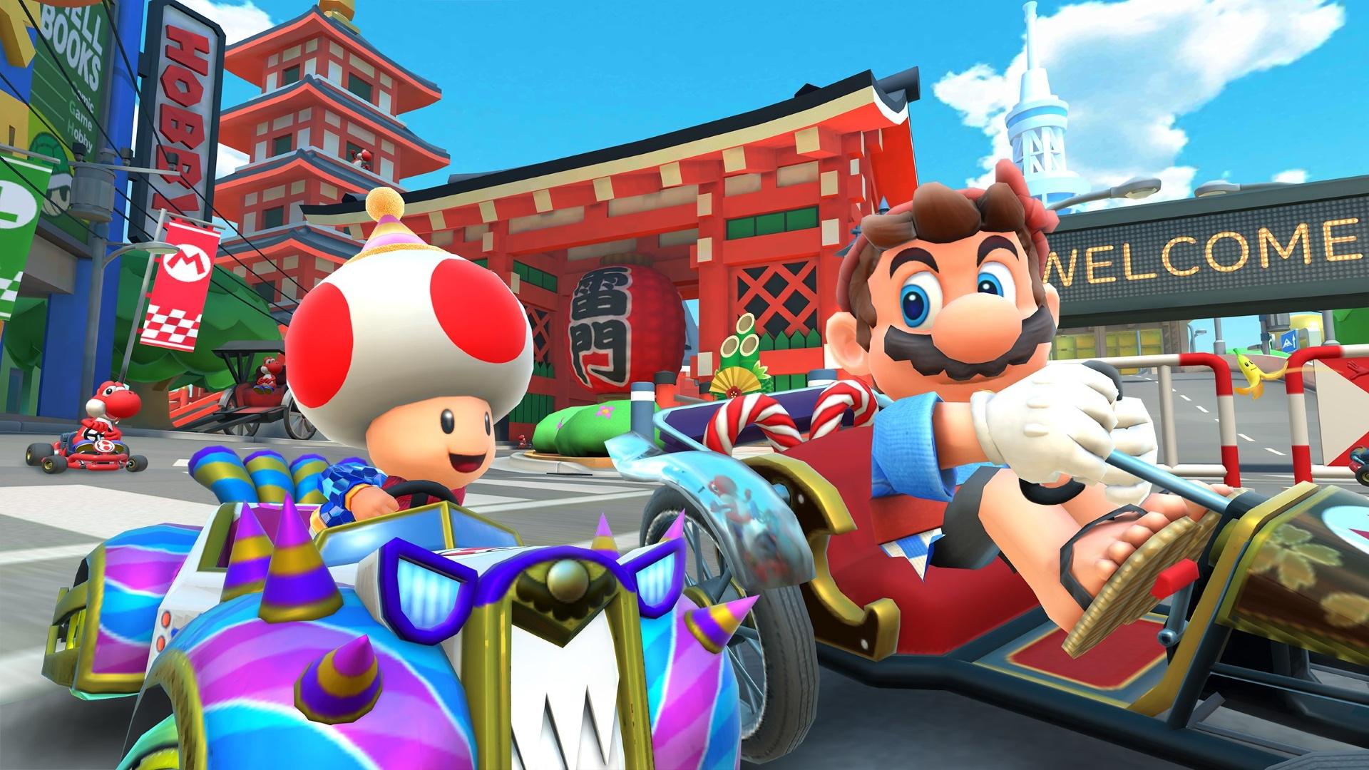 Второй бета-тест мультиплеера Mario Kart Tour будет открыт для всех