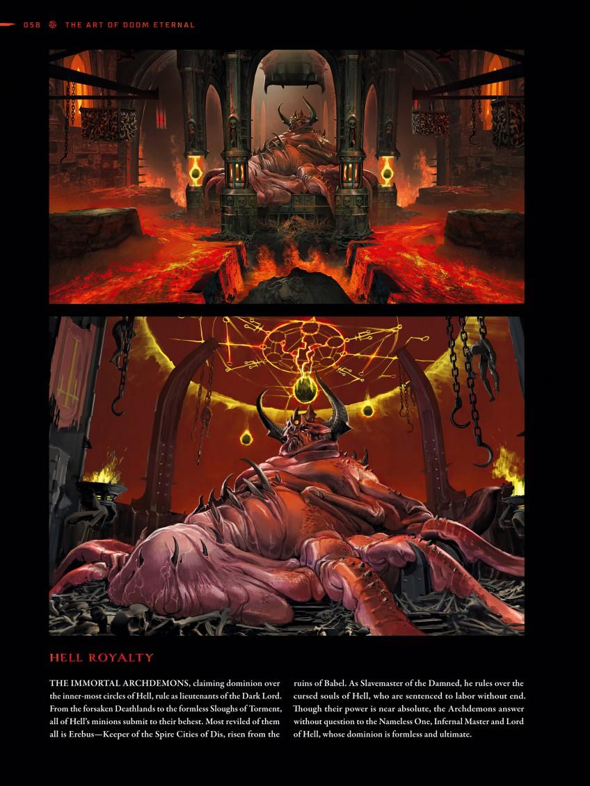 Утечка: спойлерные иллюстрации DOOM Eternal из артбука