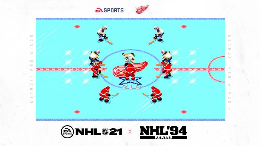 EA приготовила ретро-бонус для предзаказов NHL 21: ремастер NHL94 Rewind