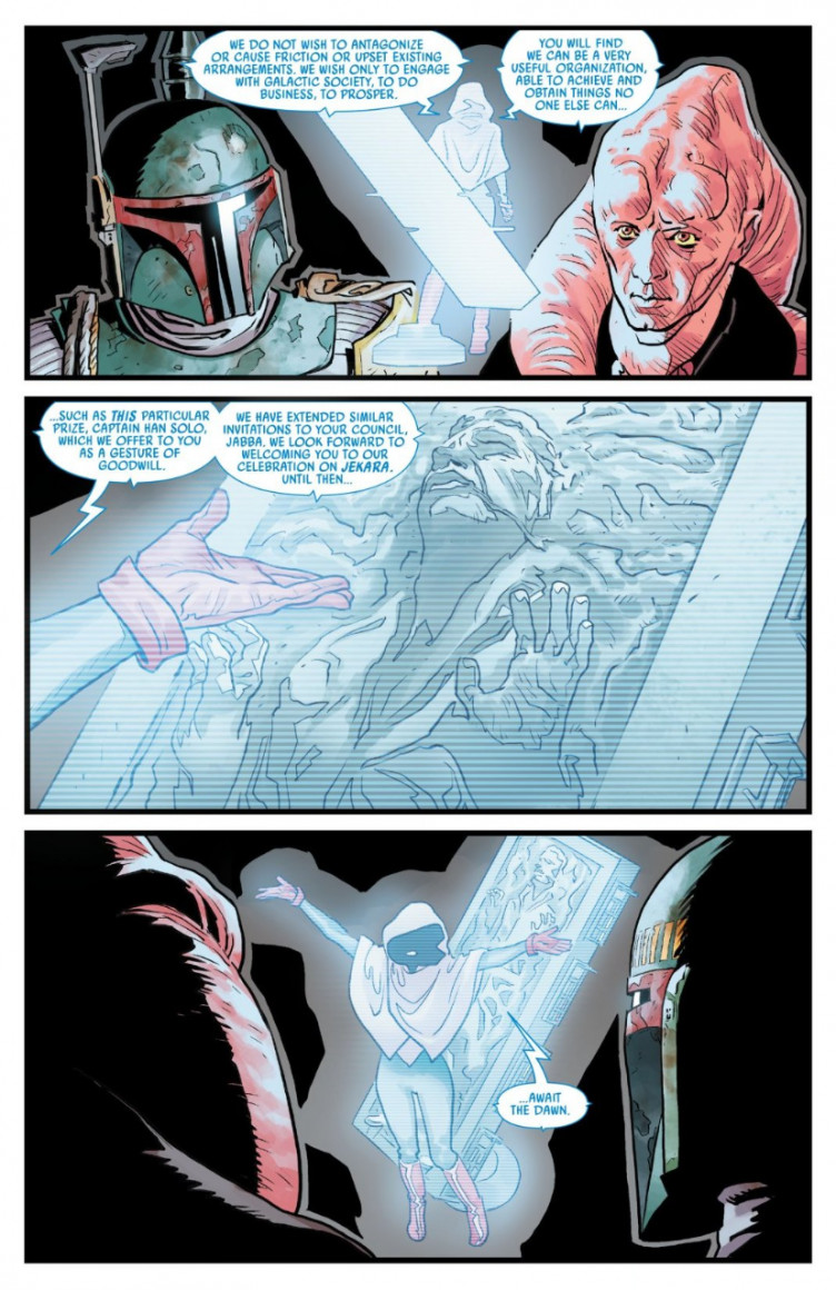 В комиксах по «Звёздным войнам» вернули персонажа из фильма про Хана Соло3