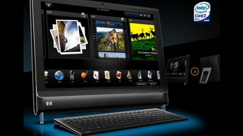 Компьютеры TouchSmart от HP