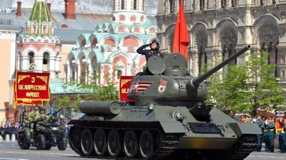 Виртуальный Парад Победы провели в War Thunder