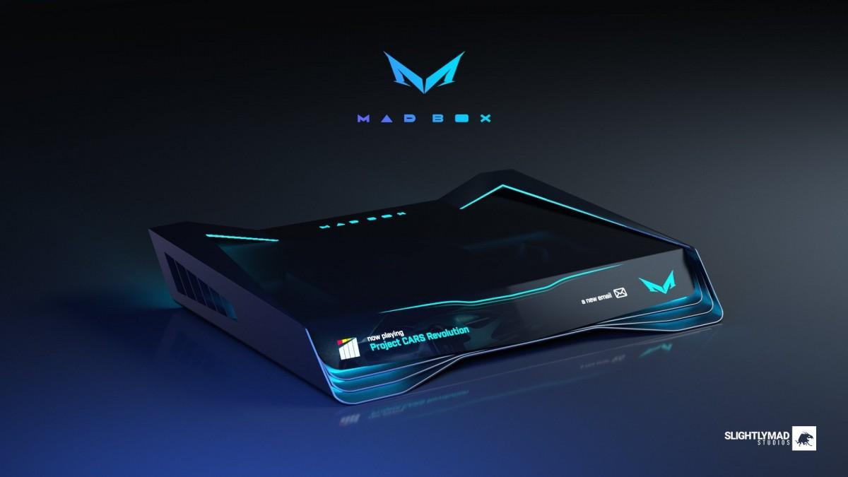 Авторы Project CARS показали основной дизайн своей консоли Mad Box