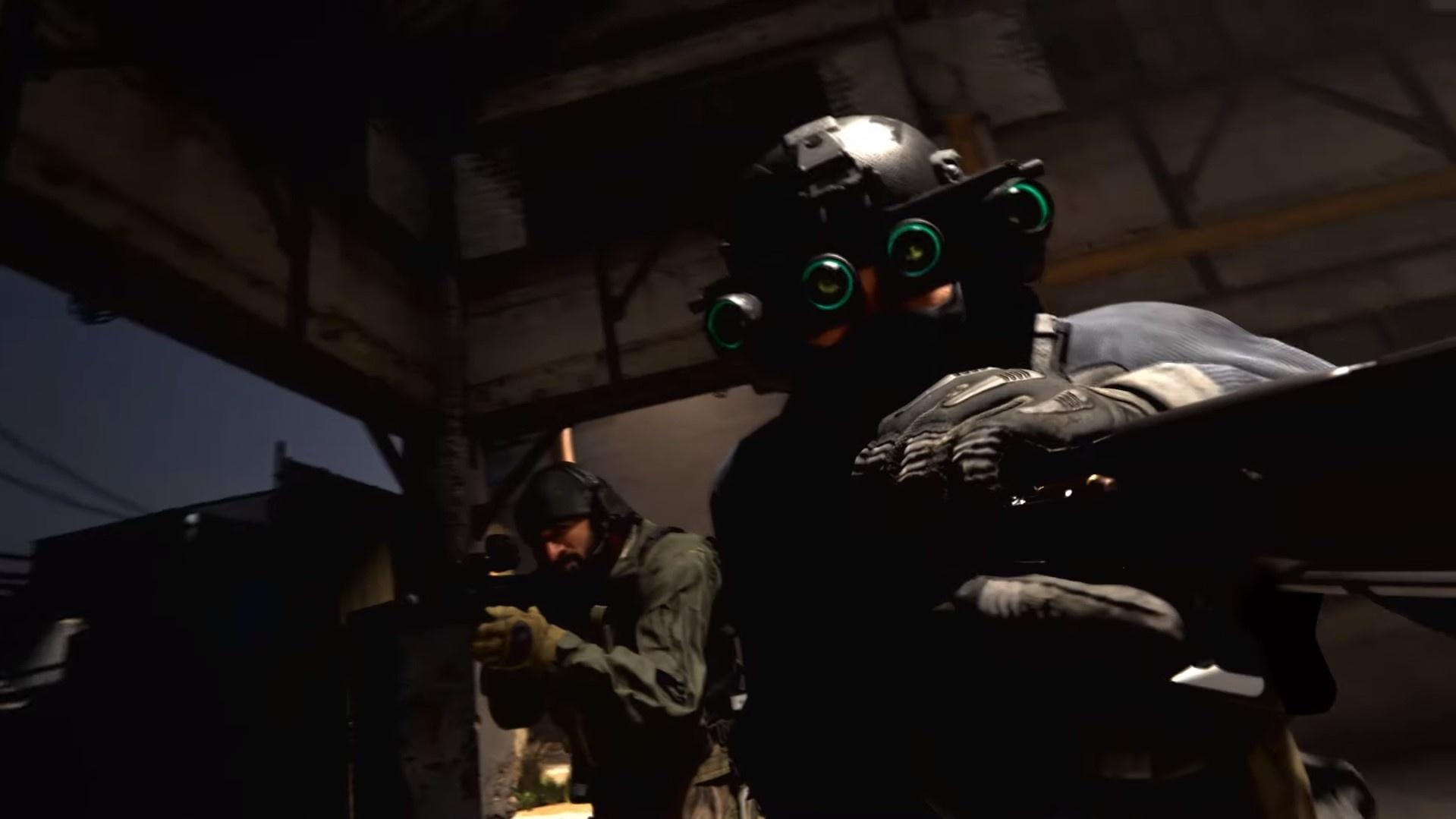 В коллекционное издание Call of Duty: Modern Warfare войдут очки ночного видения