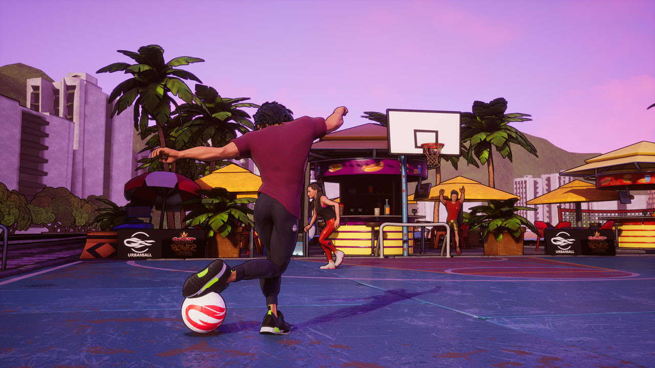 В новом трейлере Street Power Football показали режим фристайла
