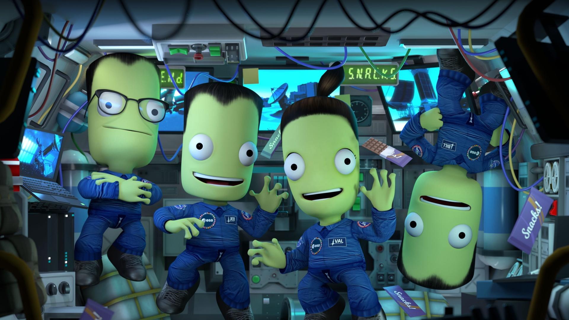 Kerbal Space Program получила крупное обновление Shared Horizons
