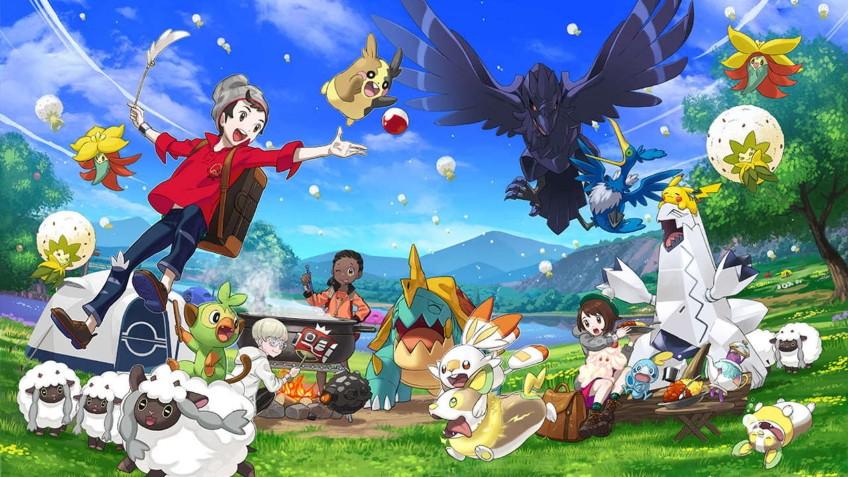 Продажи Pokemon Sword and Shield в рознице Японии составили1,36 млн копий за первые три дня