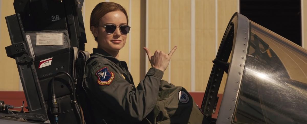 Marvel представила второй трейлер фильма «Капитан Марвел»