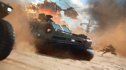 Самые нелепые баги беты Battlefield 2042 показали в одном видео