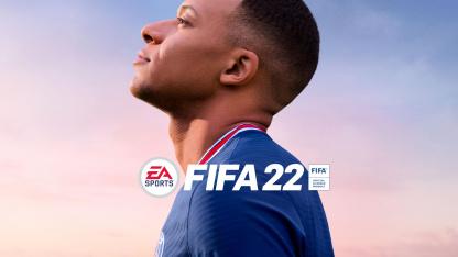 EA анонсировала FIFA22 с Мбаппе на обложке