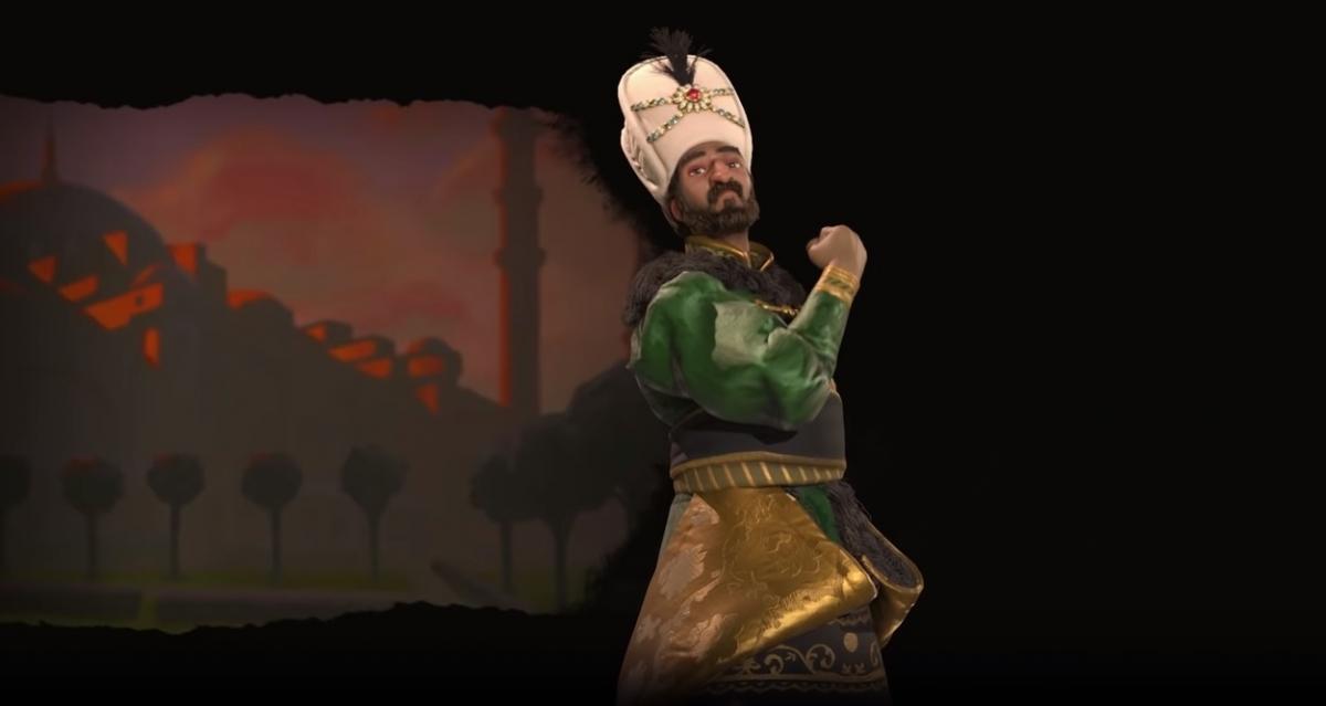 Сулейман возглавит османов в новом дополнении к Sid Meier's Civilization VI