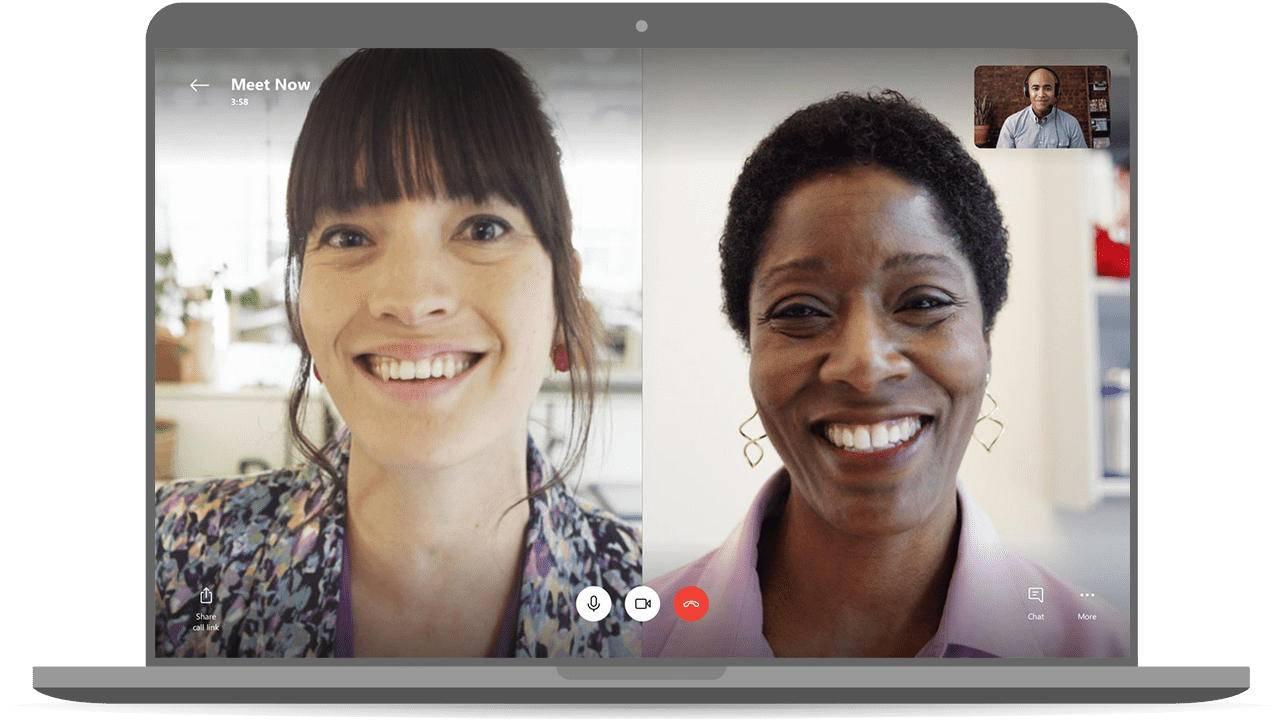 Skype Meet Now — представлена функция для бесплатных видеоконференций