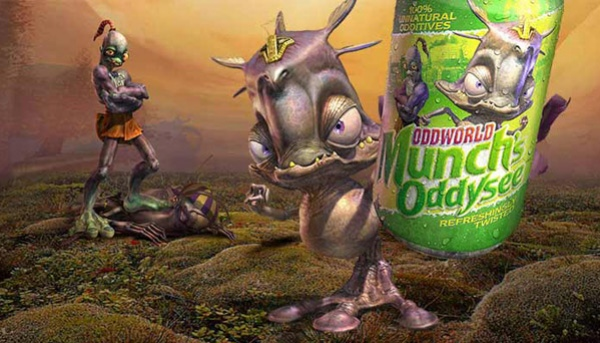 Oddworld: Munch's Oddysee HD вышла на PS Vita