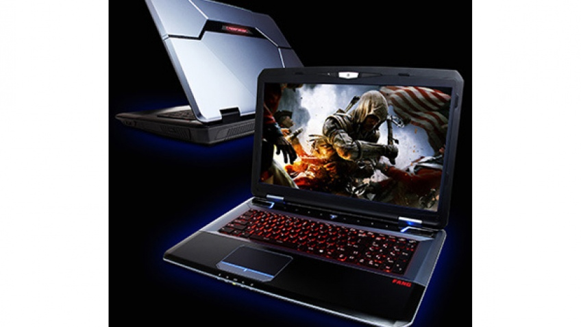 CyberPowerPC представила игровые ноутбуки FangBook X7