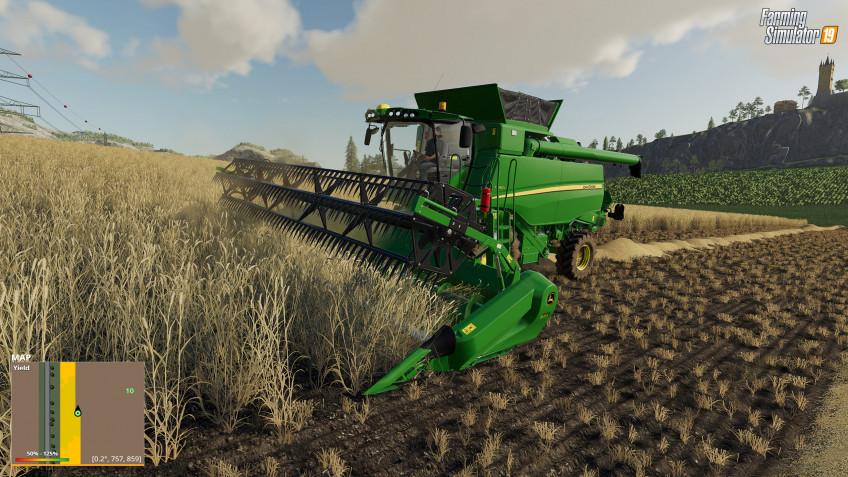 К Farming Simulator19 выпустят бесплатное дополнение Precision Farming