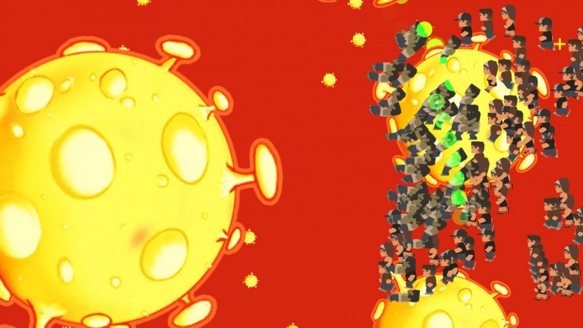 Китайские игроки призывают жаловаться на игру Coronavirus Attack в Steam