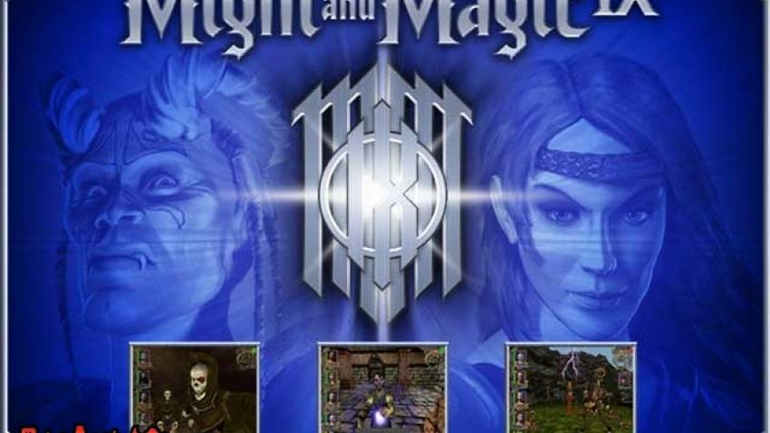 Сайт Might and Magic IX