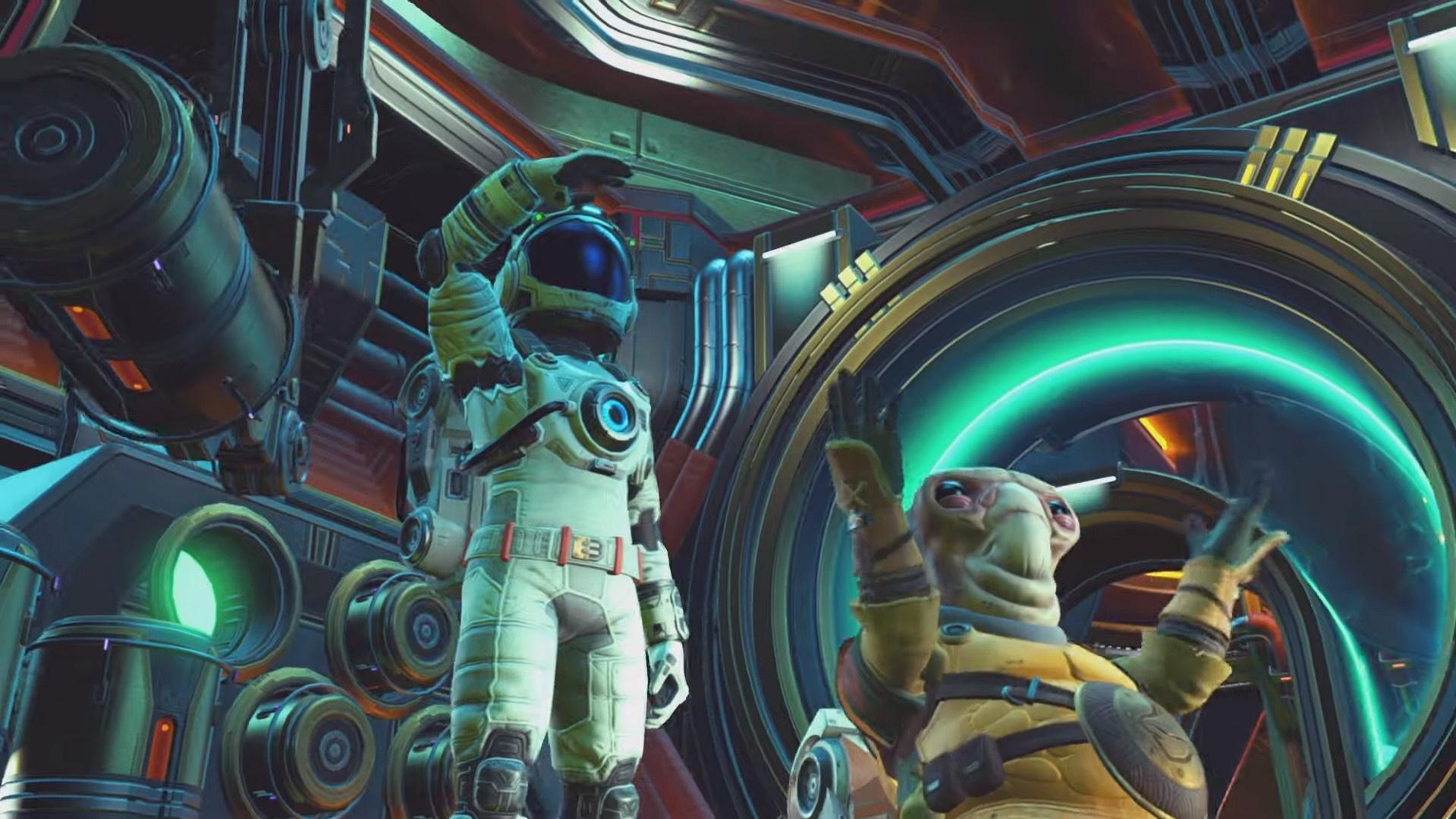 Свежие детали No Man's Sky Beyond: онлайн на32 игрока, электричество и дойка животных
