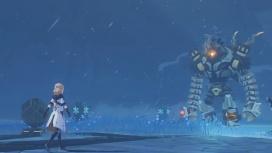 В Genshin Impact добавят снежную локацию, где герои будут замерзать