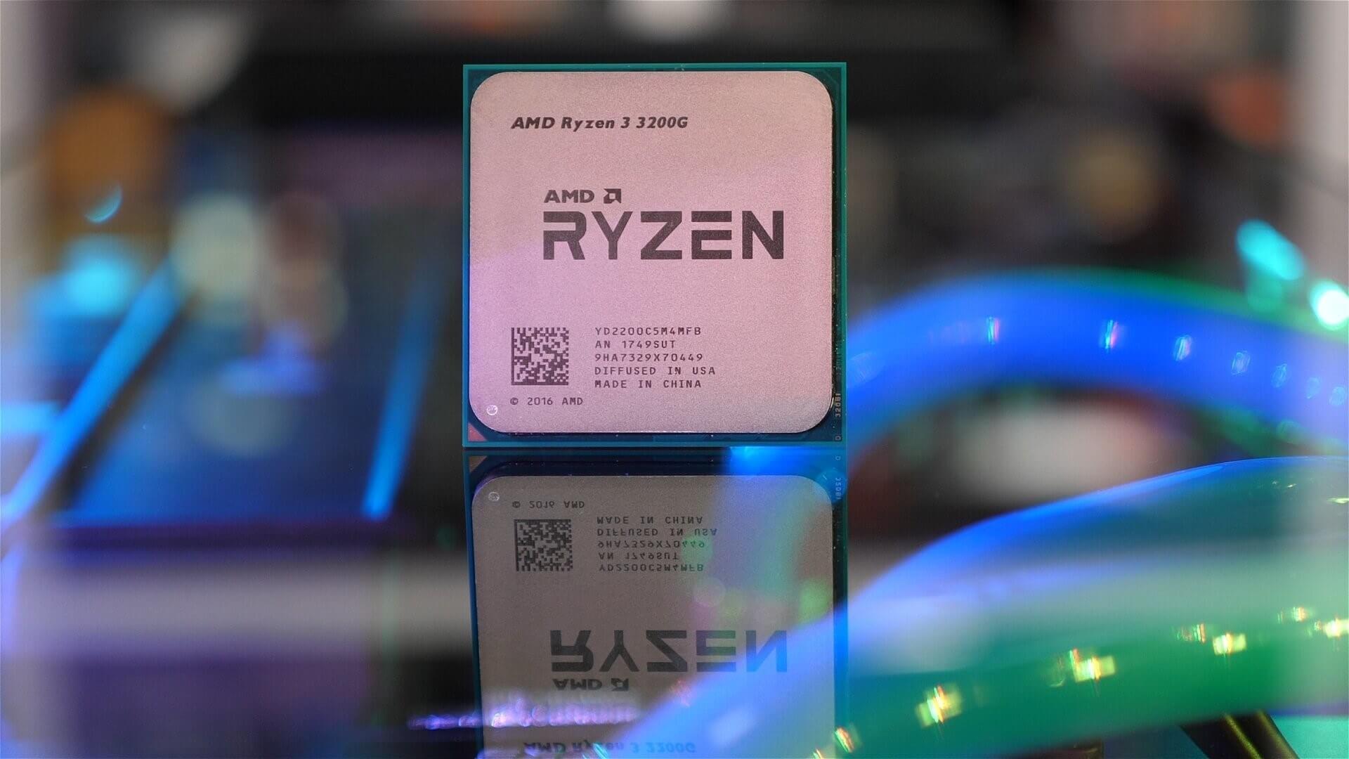 Гибридный процессор Ryzen5 3400G получил припой под крышкой