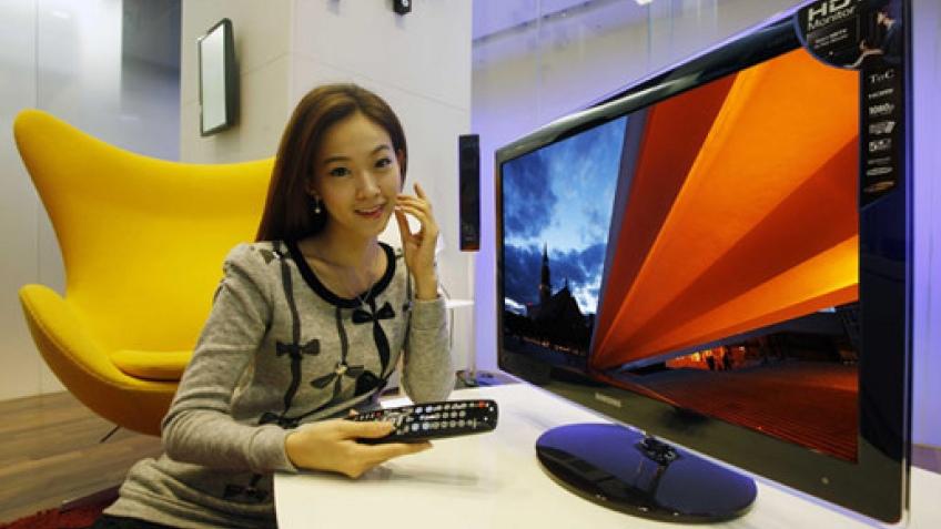 Большой и стильный монитор Samsung