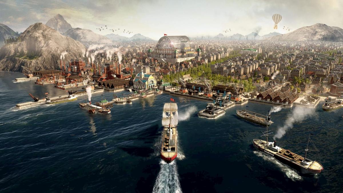 Старт Anno 1800 стал самым успешным в истории серии, хотя игра «не вышла» в Steam
