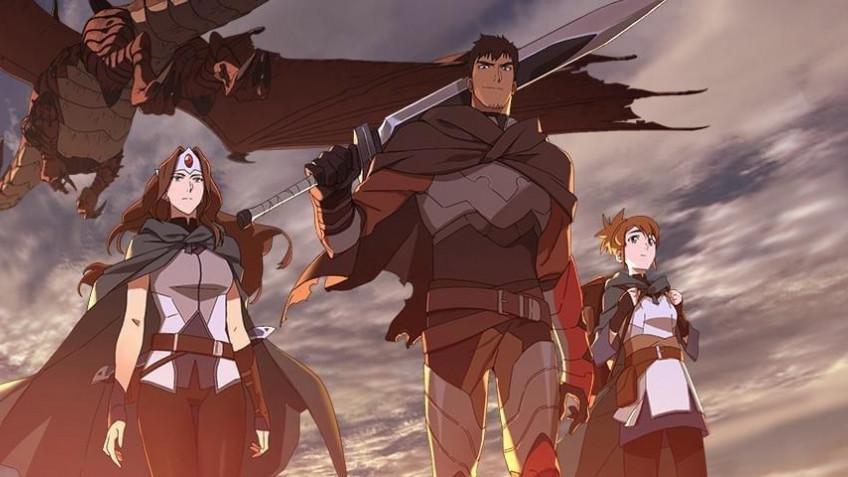 Netflix выпустит аниме по Dota — «Кровь дракона». Опубликован трейлер