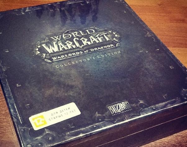 Назван победитель розыгрыша коллекционного издания World of Warcraft: Warlords of Draenor!