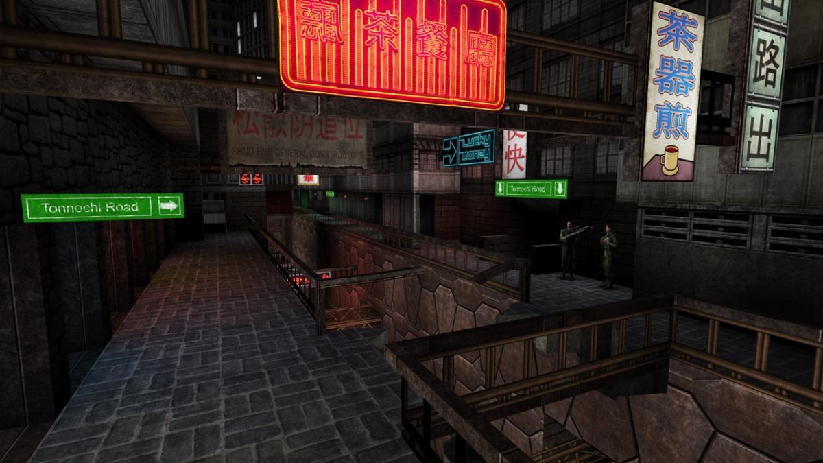 Текстуры для оригинальной Deus Ex улучшили с помощью искусственного интеллекта