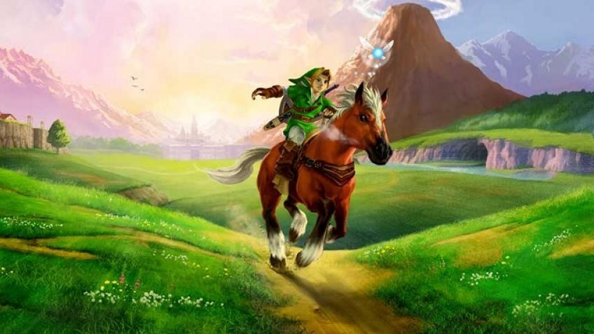 Игрок использовал настоящую окарину для игры в The Legend of Zelda: Ocarina of Time