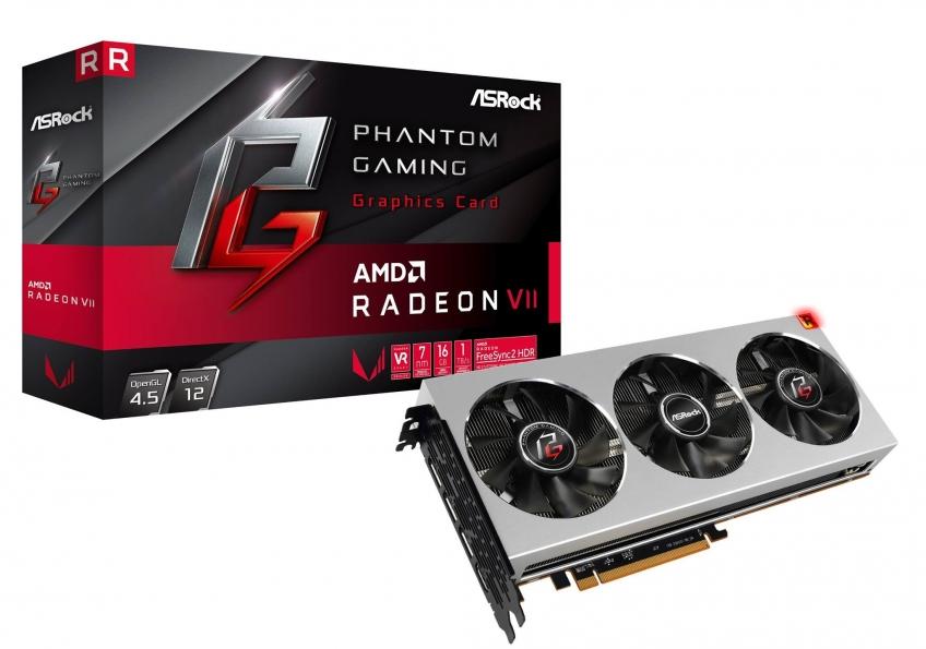 ASRock анонсировала видеокарту Radeon VII Phantom Gaming