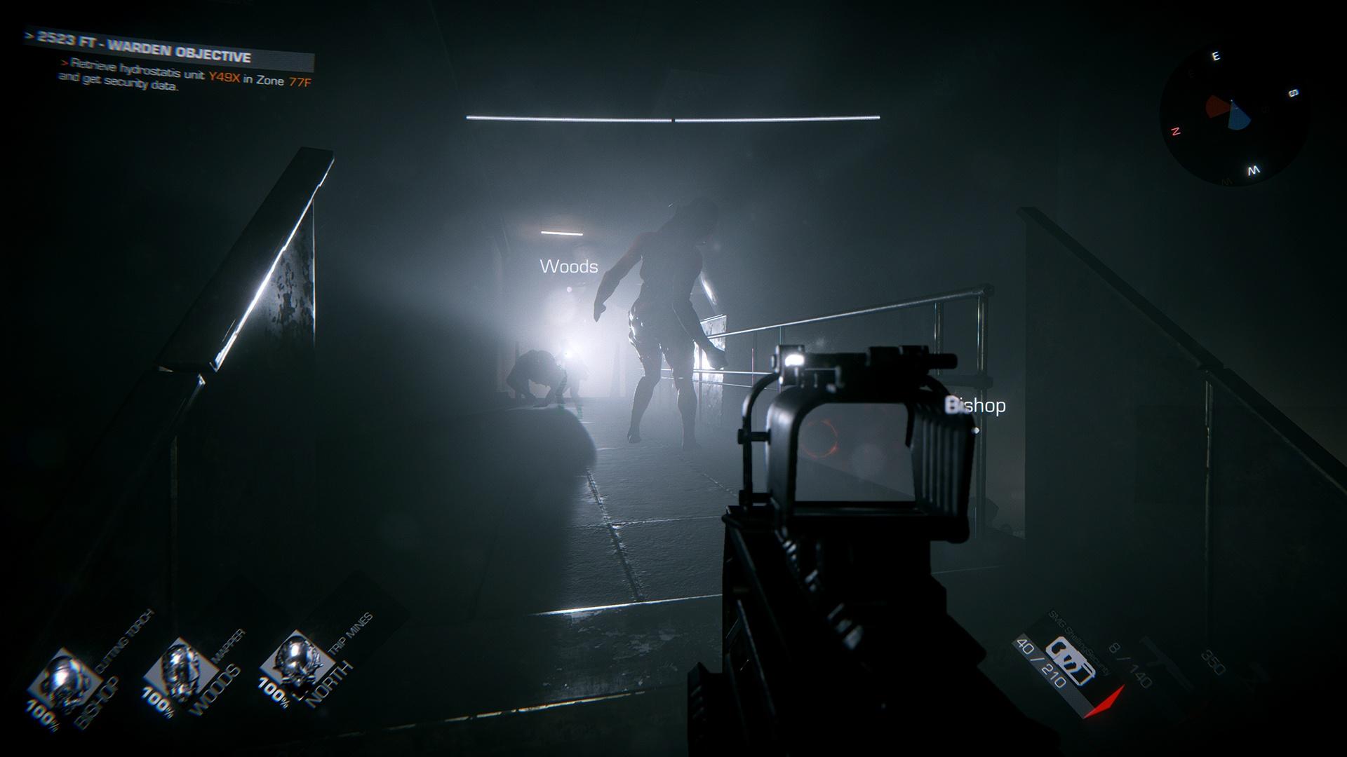 В новом трейлере шутера GTFO показали высадку в пещеры с монстрами