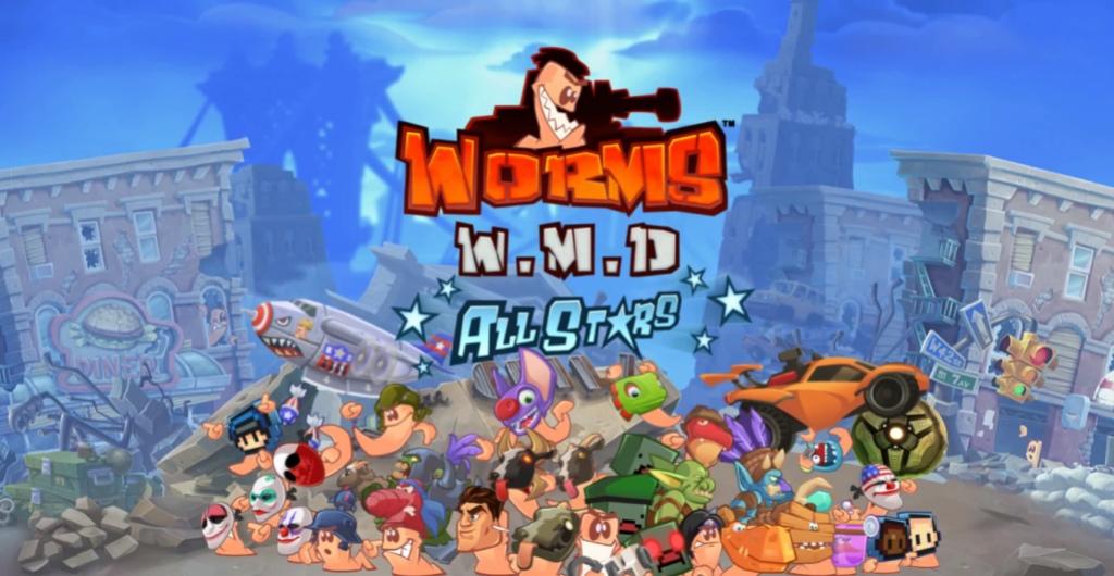 Разработчики Worms W.M.D. позаимствуют для игры всякий хлам из Rocket League и Payday2