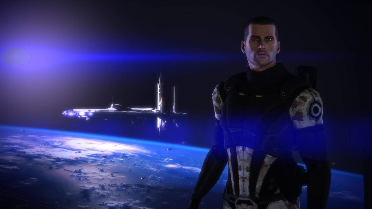 Поклонники создали 4K-текстуры для первой части Mass Effect