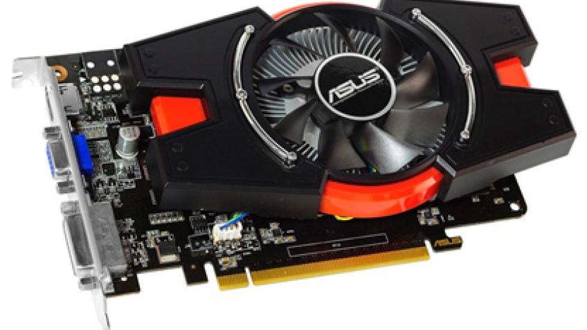 ASUS GeForce GTX 650 не требуется дополнительное питание