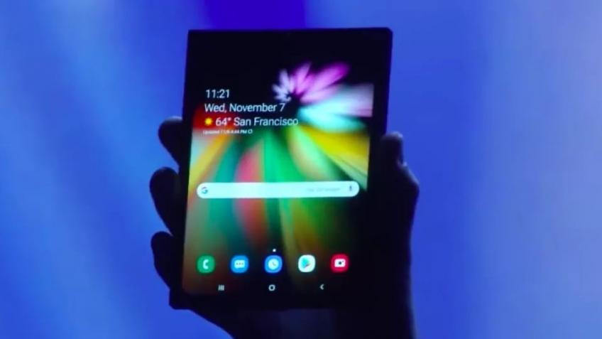 Названа ориентировочная цена складного смарфтона Samsung с гибким экраном