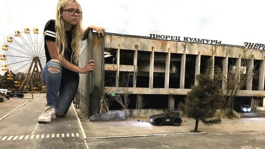 Isotopium: Chernobyl позволяет управлять мини-роботом в мини-Припяти