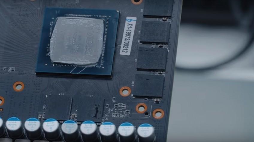 Энтузиасты из Бразилии собрали видеокарту GeForce RTX 2080 Ti Super