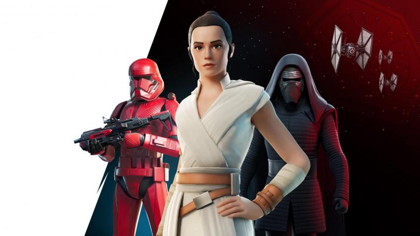 В честь4 мая в Fortnite вернули экипировку по «Звёздным войнам»