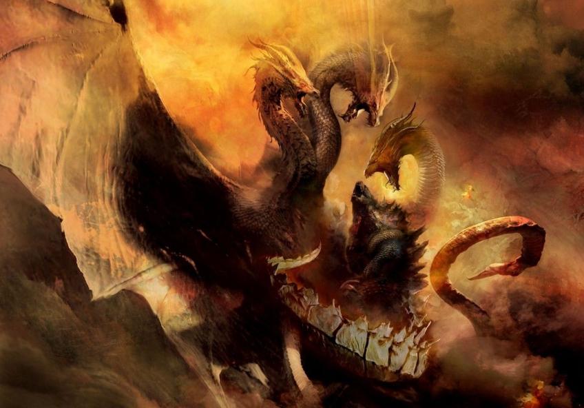 Змей Горыныч и другие в трейлере «Годзилла 2: Король монстров»