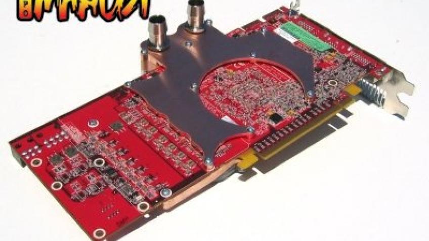 Первый Radeon HD с водяным охлаждением