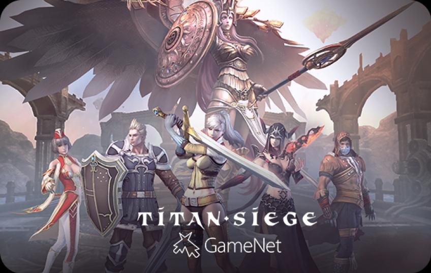 Стартовало тестирование онлайновой игры Titan Siege