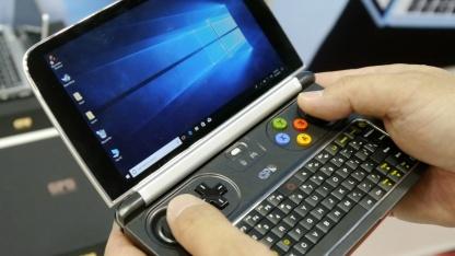 Утечка показала как может выглядеть мини-ноутбук GPD Win Max
